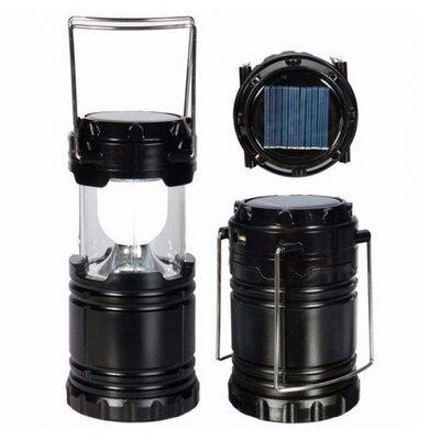 Туристический фонарь-лампа на солнечной батарее CAMPING G85