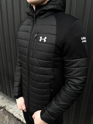 Люкс качество Мужская демисезонная куртка Under Armour на весну-осень