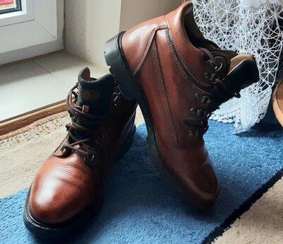 Ботинки Marks & Spencer, 44р., 10, 28,5см, кожа, Италия. Суперовые.