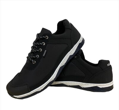Кросівки чоловічі демісезонні чорні Кф-16Ч