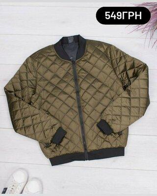 Чоловіча Демі демісезонна весняна куртка бомбер мужская весенняя Деми демисезонная куртка