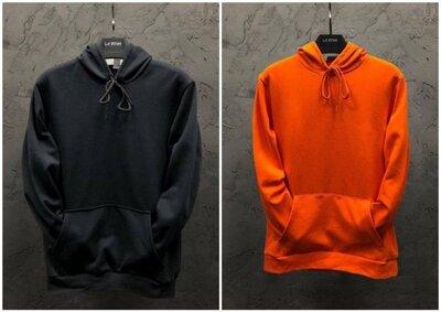 Парные худи Dekka Baza цвет черный и оранж