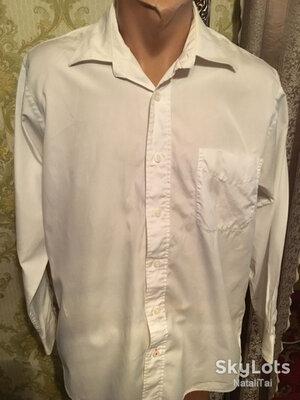 Рубашка мужская белая Scarlett