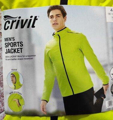 Спортивна куртка вітровка, кофта, 3xl 54 euro, Crivit, Німеччина