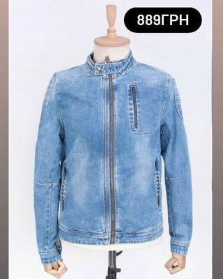 Продано: Чоловіча стильна джинс джинсова демісезонна куртка мужская Демисезонная джинсовая стильная куртка