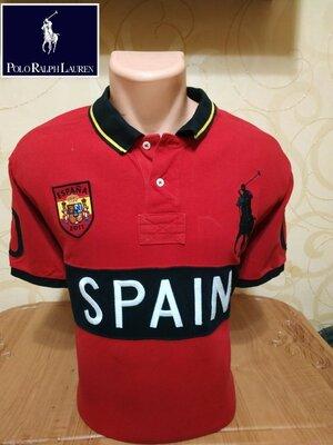 Удобная и практичная хлопковая футболка-поло люксового американского бренда Polo Ralph Lauren.