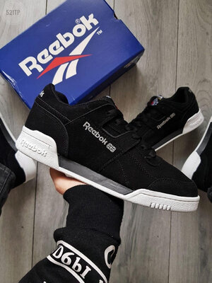 Мужские кроссовки Reebok Black/White