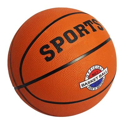 Мяч баскетбольный резиновый BT-BTB-0026 размер 7