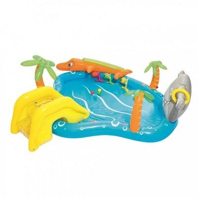 Бассейн надувной 53067 Морская жизнь, с животными