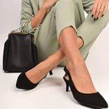 Элегантные классические туфли лодочки,мюли