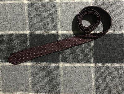 Мужской галстук BHS бхс идеал оригинал бордовый