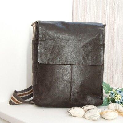 Кожаная мужская сумка Rocha John Rocha. Натуральная кожа.