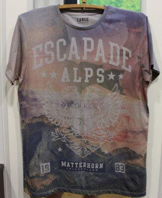 Мужская футболка CEDAR WOOD State MATTERHORN, Великобритания, р. L