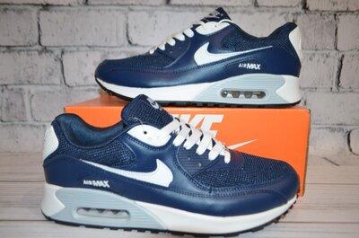 Кроссовки Nike 90 синии.