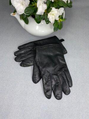 Мужские перчатки marks and spenser, натуральная кожа, M size