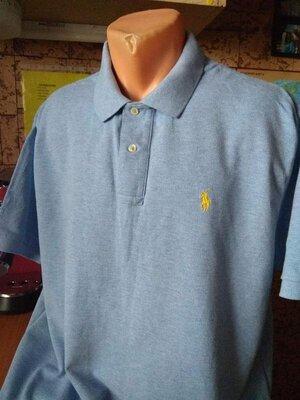 футболка поло батал polo ralph lauren / размер XL
