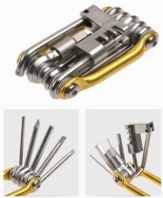 Велосипедный ключ мультитул 11 в 1