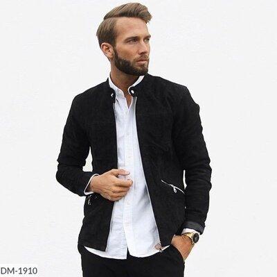 Продано: Пальто мужское замш Размеры S, M, L, XL
