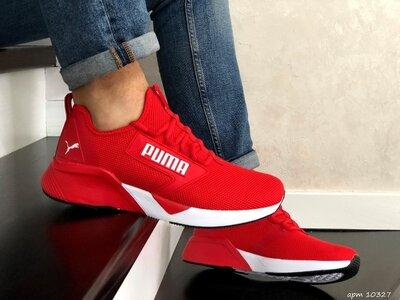 Кроссовки мужские Puma Hybrid, красные