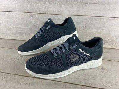 Обувь больших размеров Кожаные мужские кроссовки Reebok