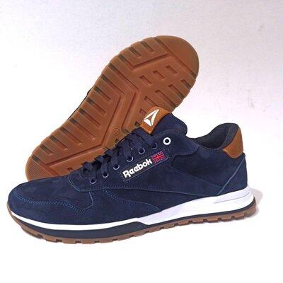 Мужские кроссовки Reebok model-R1, натуральная замша