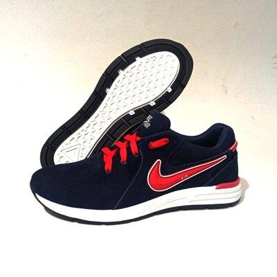 Мужские кроссовки Nike model-N1, натуральная замша