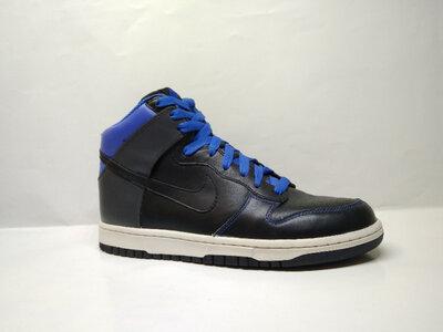 Кожаные кроссовки Nike dunk high Jordan 42-42.5 р оригинал, 317982-003