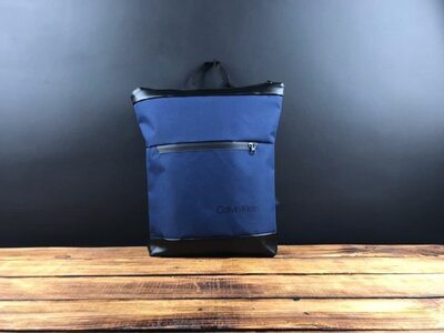 Рюкзак синий Calvin Klein D48