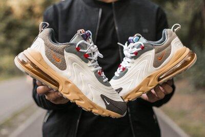 кроссовки мужские Nike Air Max 270 react x travis scott