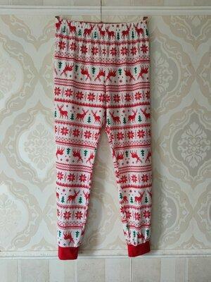 Размер М Красивые фирменные мужские пижамные домашние штаны