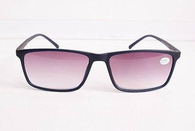Очки мужские для зрения19210, с диоптриями, корригирующие с тонирован. линзой 3.0