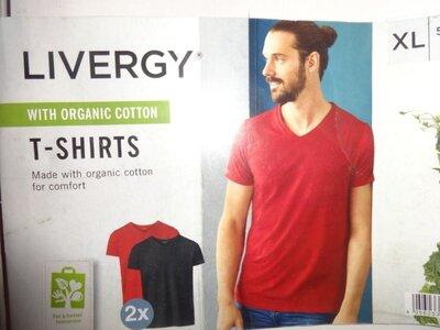 Livergy Германия XL-еur стильная мужская футболка хлопок, оригинал
