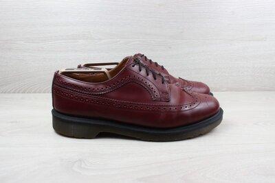 Кожаные броги / туфли Dr. Martens оригинал, размер 45