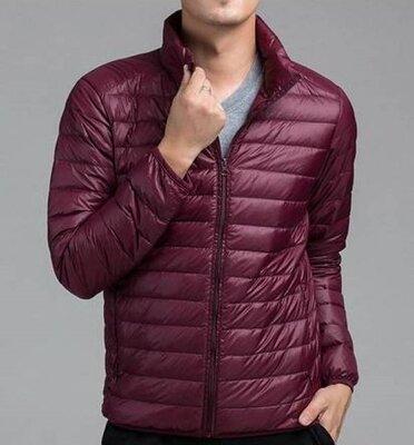 Мужская демисезонная легкая стеганная куртка, ветровка Peacocks