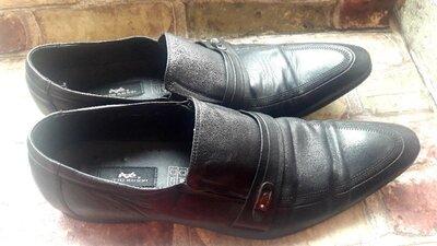 Продано: Туфли мужские натуральная кожа