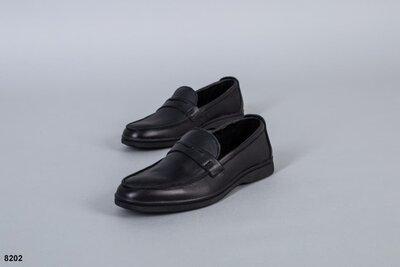 Мужские натуральные кожаные туфли мокасины лоферы мокасы стильные модные классические