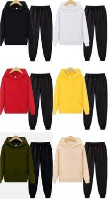 Продано: Спортивный костюм худи и спортивные штаны, Есть 6 цветов
