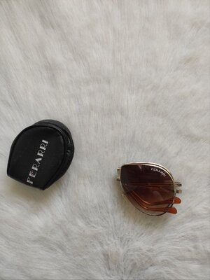 Авиаторы солнцезащитн очки складные трансформеры градиент коричневые складывающиеся винтаж