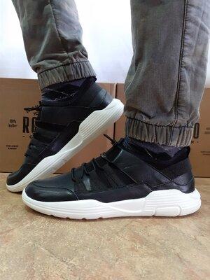 Весенне-Летние кожаные кроссовки на платформе Rondo 40-45.