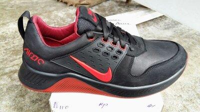 Кроссовки Кожаные Мужские Nike