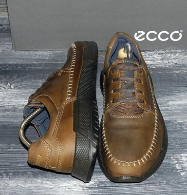 Мужские оригинальные, кожаные, невероятно крутые оксфорды ECCO Luca Oxford