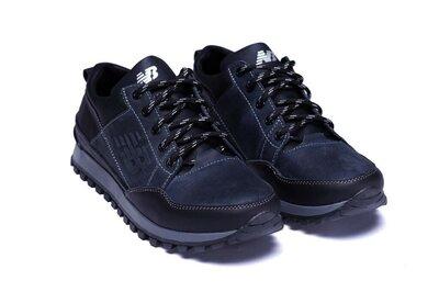 Мужские кожаные кроссовки model-125