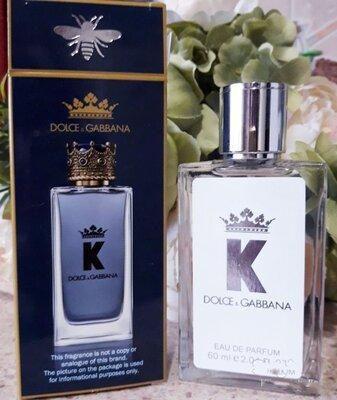 парфюмированная вода мужская Dolce&Gabbana K , 60 мл
