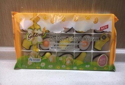 Продано: Пасхальные желейно-глазурированные и мармеладные фигурки Goldora 225 грамм