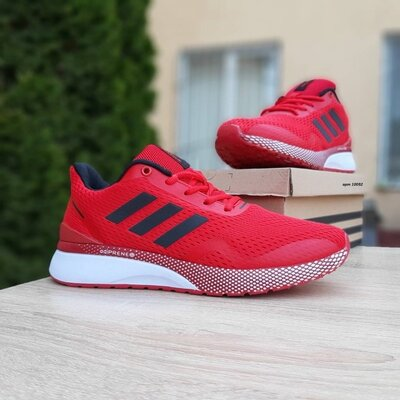 Кроссовки Adidas Nova Run X, красные, 10092