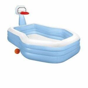 Продано: Детский надувной бассейн Intex с баскетбольным кольцом 57183