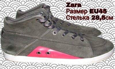 Кеды замшевые Zara . 45 размер. 28,5 см