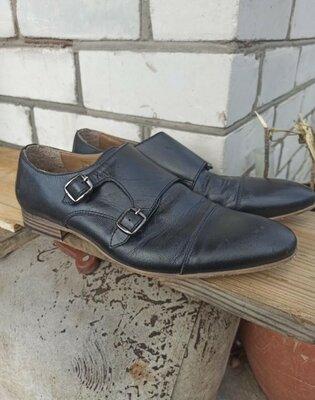 Натуральная кожа Монки туфли