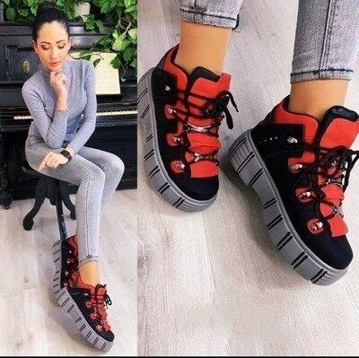 Супер Стильные Кроссовки Ботиночки Для Яркой Красотки