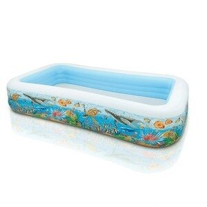 Детский надувной бассейн Intex 58485 «Тропический риф» 305 183 56 см